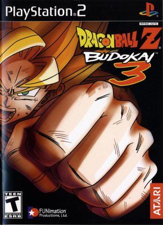 Capa Jogo Dragon Ball Z Budokai 3 PS2