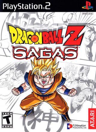 Capa Jogo Dragon Ball Z Sagas PS2