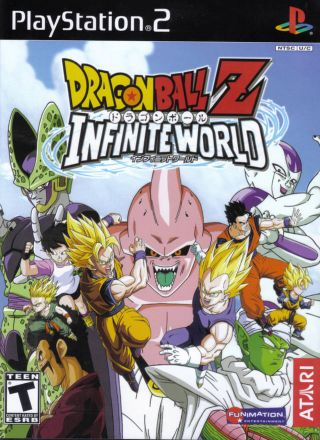 Capa Jogo DragonBall Z Infinite World PS2