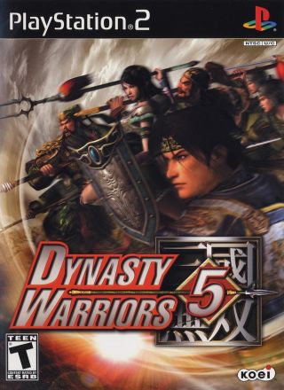 Capa Jogo Dynasty Warriors 5 PS2