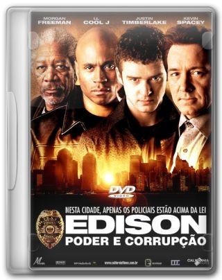 Capa do Filme Edison Poder e Corrupção