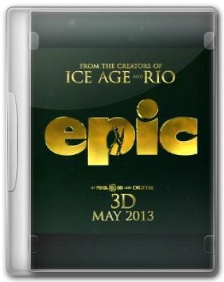 Capa do Filme Epic O Reino Secreto