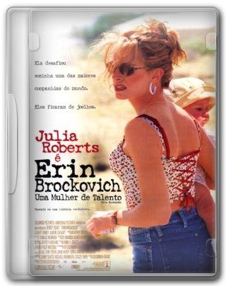 Capa do Filme Erin Brockovich Uma Mulher de Talento