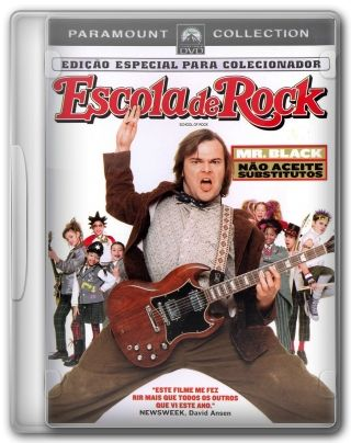 Capa do Filme Escola de Rock