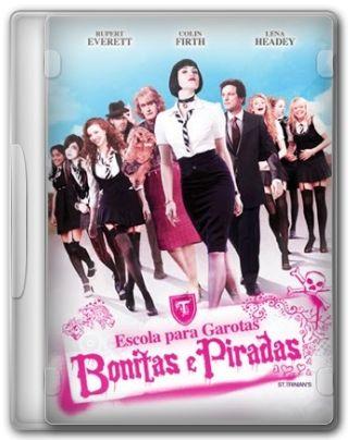 Capa do Filme Escola para Garotas Bonitas e Piradas