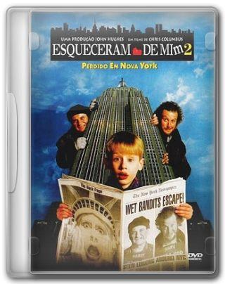 Capa do Filme Esqueceram de Mim 2 Perdido em Nova York