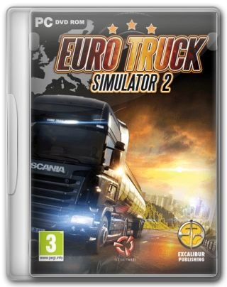 Capa Jogo Euro Truck Simulator 2 PC Requisitos