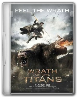 Capa do Filme Wrath of the Titans