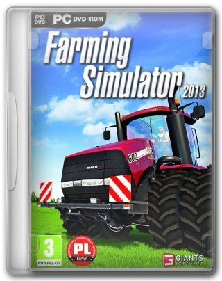 Capa Jogo Farming Simulator 2013 PC