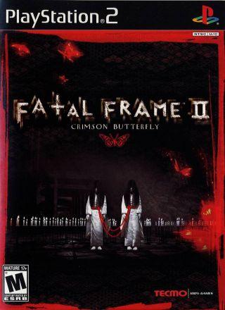 Capa Jogo Fatal Frame 2 Crimson Butterfly PS2