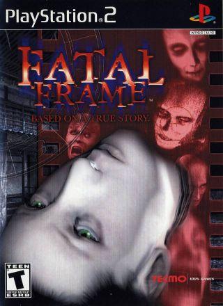 Capa Jogo Fatal Frame PS2