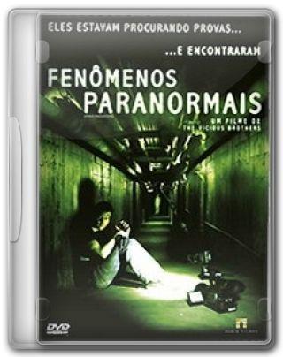 Capa do Filme Fenômenos Paranormais