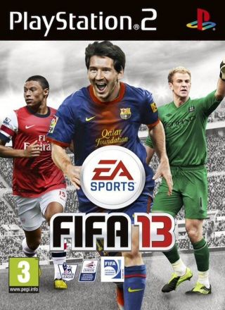 Capa Jogo FIFA Soccer 13 PS2