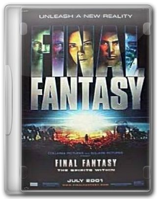Capa do Filme Final Fantasy