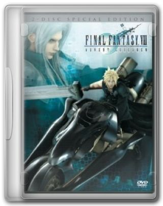 Capa do Filme Final Fantasy VII - Advent Children