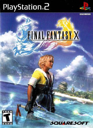 Capa Jogo Final Fantasy X PS2