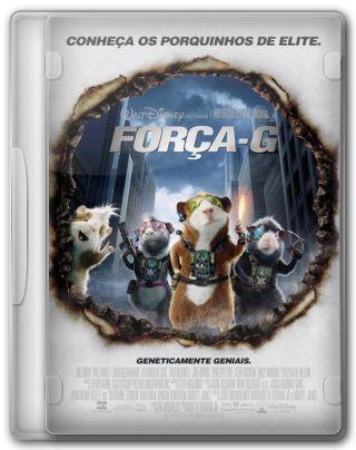 Capa do Filme Força G 3D