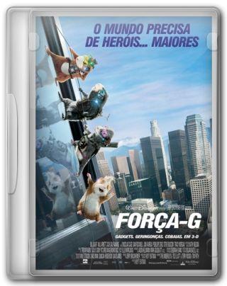 Capa do Filme Força G