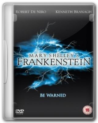 Capa do Filme Frankenstein de Mary Shelley