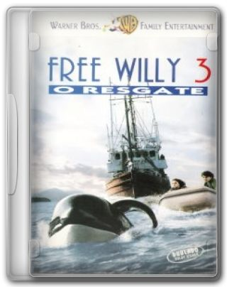 Capa do Filme Free Willy 3, o Resgate