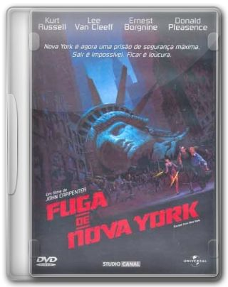 Capa do Filme Fuga de Nova York