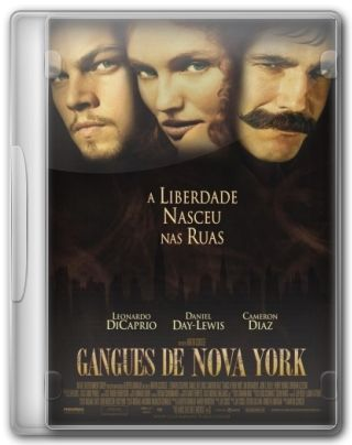 Capa do Filme Gangues de Nova York