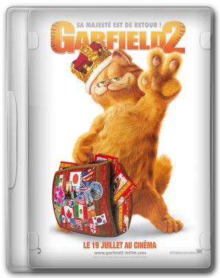 Capa do Filme Garfield 2