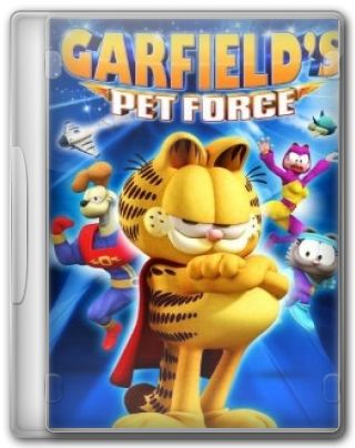 Capa do Filme Garfield Um Super Herói Animal