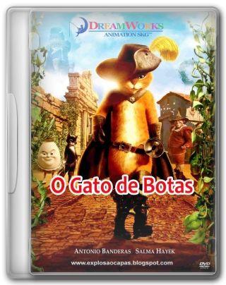Capa do Filme Gato de Botas