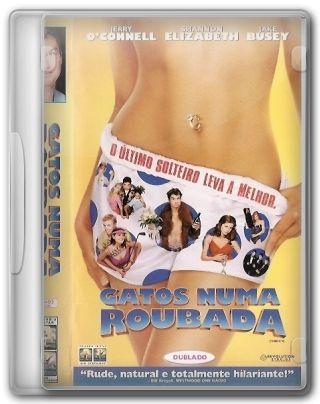 Capa do Filme Gatos Numa Roubada