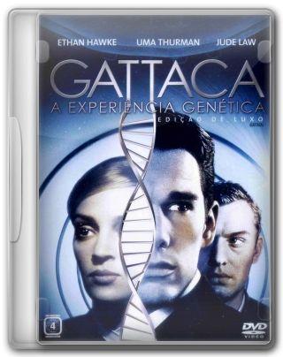 Capa do Filme Gattaca Experiência Genética