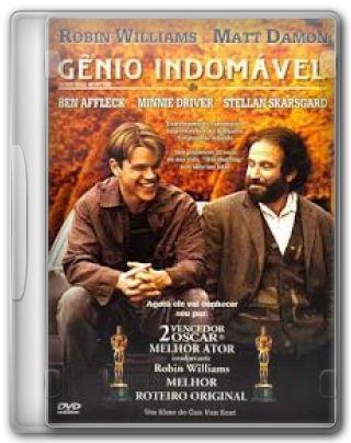Capa do Filme Gênio Indomável