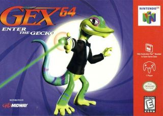 Gex 64 Enter the Gecko USA