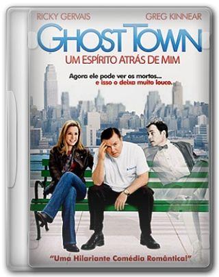 Capa do Filme Ghost Town Um Espírito Atrás de Mim