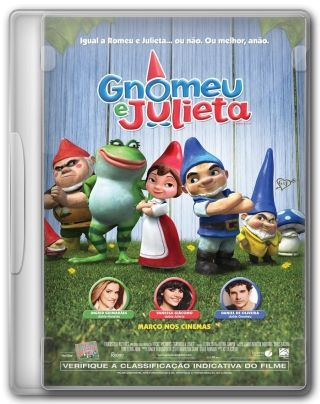 Capa do Filme Gnomeu e Julieta