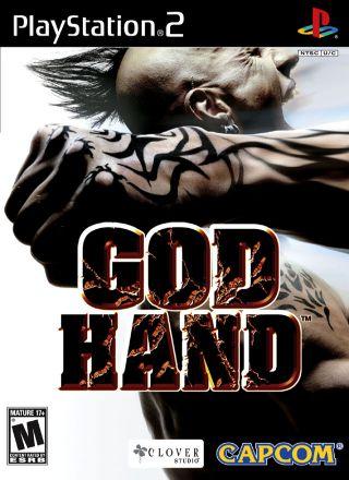 Capa Jogo God Hand PS2