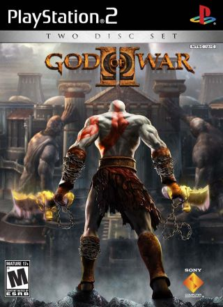 Capa Jogo God of War 2 PS2