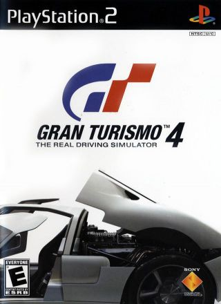 Capa Jogo Gran Turismo 4 PS2