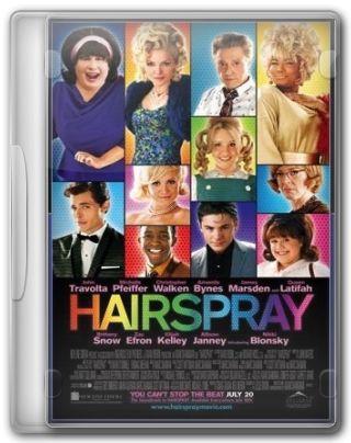 Capa do Filme Hairspray Em Busca da Fama