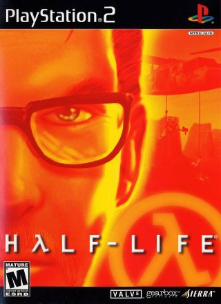 Capa Jogo Half-Life PS2
