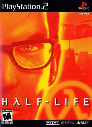 Capa Jogo Half-Life PS2