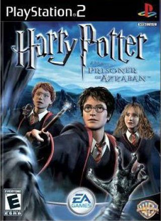 Capa Jogo Harry Potter and The Prisoner of Azkaban PS2