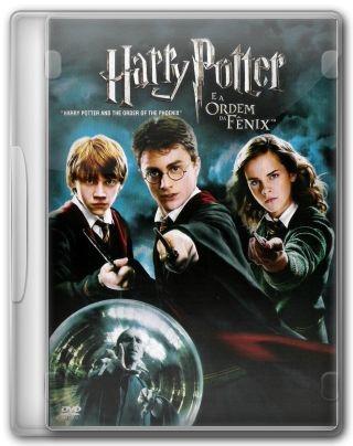 Capa do Filme Harry Potter e a Ordem da Fênix