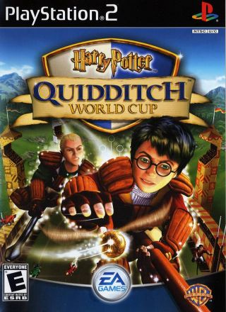 Capa Jogo Harry Potter Quidditch World Cup PS2