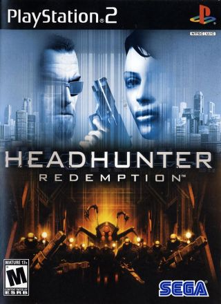 Capa Jogo Headhunter Redemption PS2