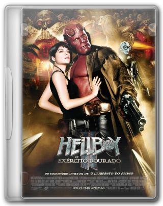 Capa do Filme Hellboy 2 O Exército Dourado
