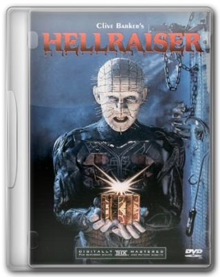 Capa do Filme Hellraiser Renascido do Inferno