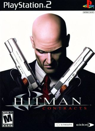 Capa Jogo Hitman Contracts PS2