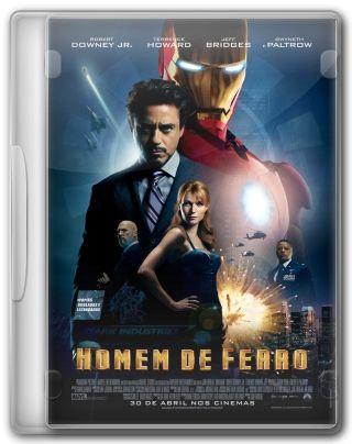 Capa do Filme Homem de Ferro 1