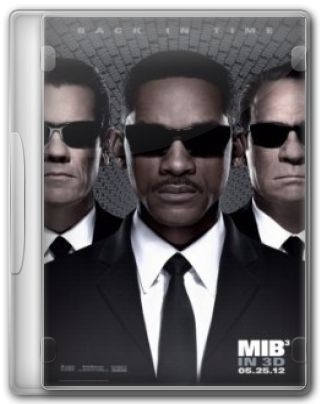 Capa do Filme MIB 3 Men in Black III